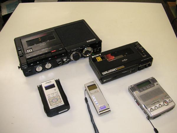テープレコーダー、ICレコーダー